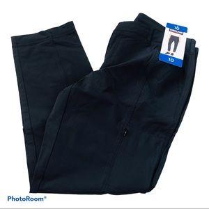 Kirkland Signature Ladies' Travel pants / Black 10